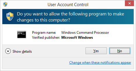 How to disable UAC