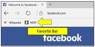 How to Turn On Favorites Bar in Microsoft Edge
