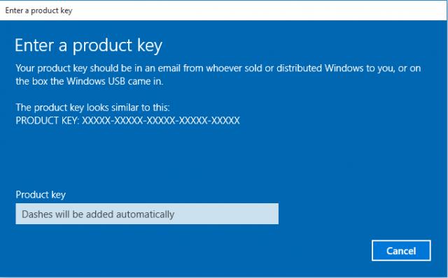 Activate Windows 10 Over Internet