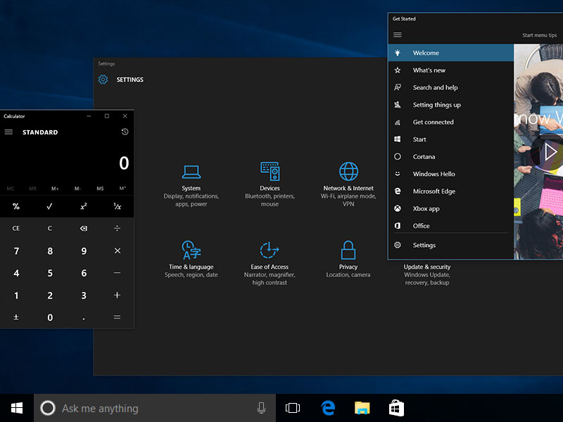 Windows 10 Anniversary Update To Bring A Dark Theme  Windows 10 News