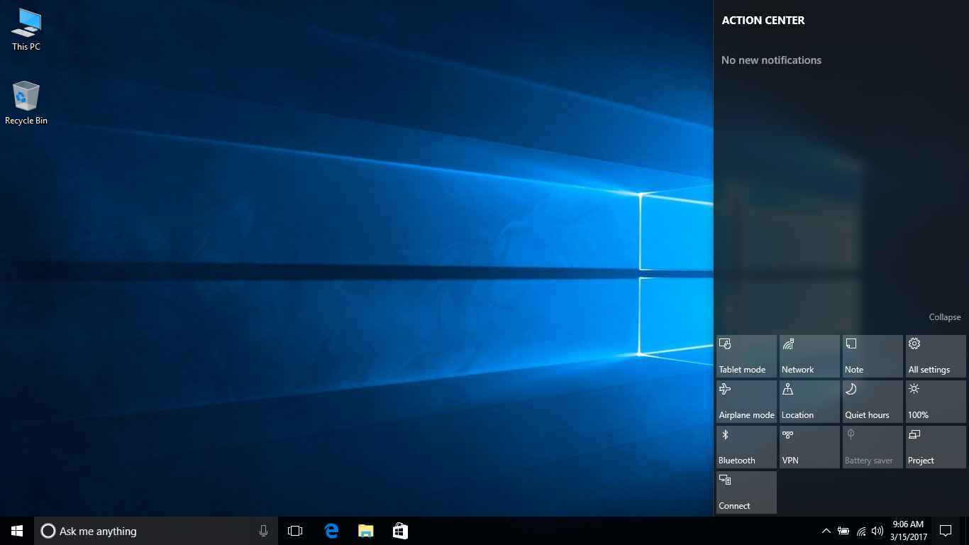 Make screen brighter windows 10 - The Action Center Also Provides This Level Of Control And Can Quickly Be Used To Toggle Between These Predefined Brightness Levels Listed Above