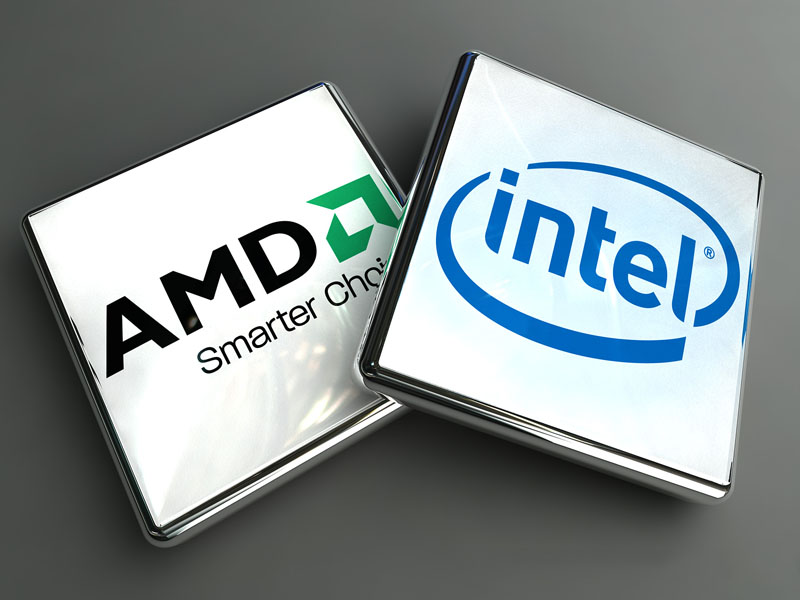 AMD Intel Logo