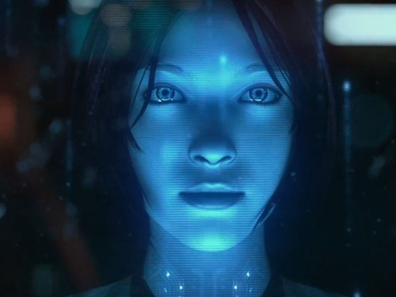 Cortana look in Halo