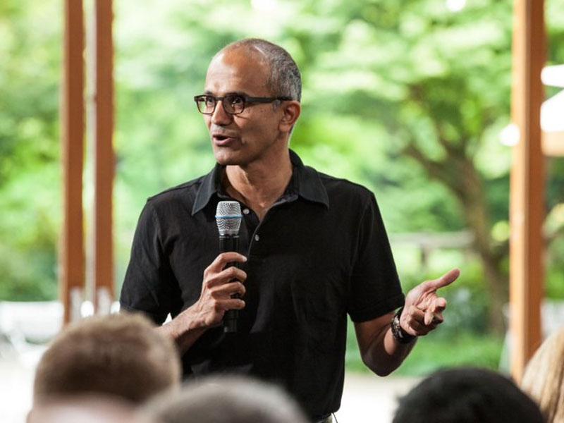 Satya Nadella Speaking