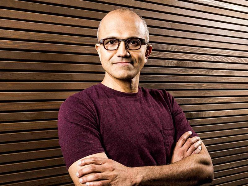 Satya Nadella Windows 10