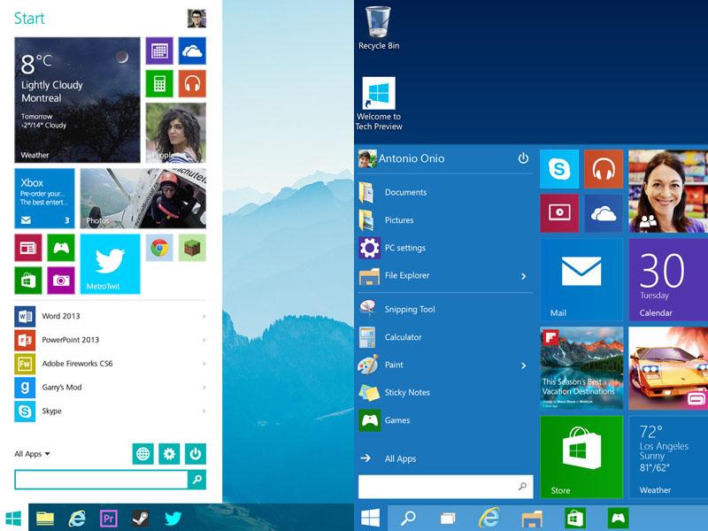 Windows 10 Design