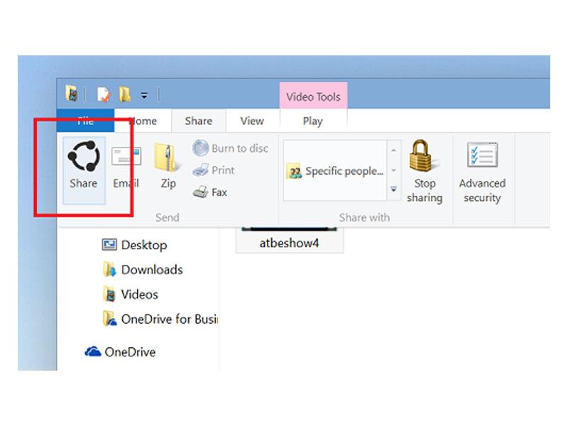 Windows 10 Share