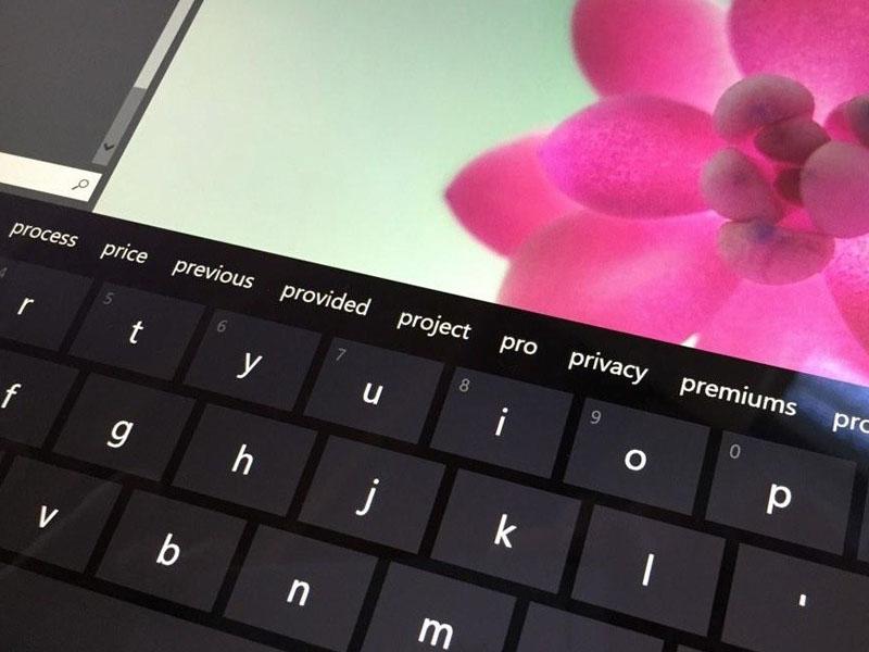 Windows 10 Keyboard Predictive Text
