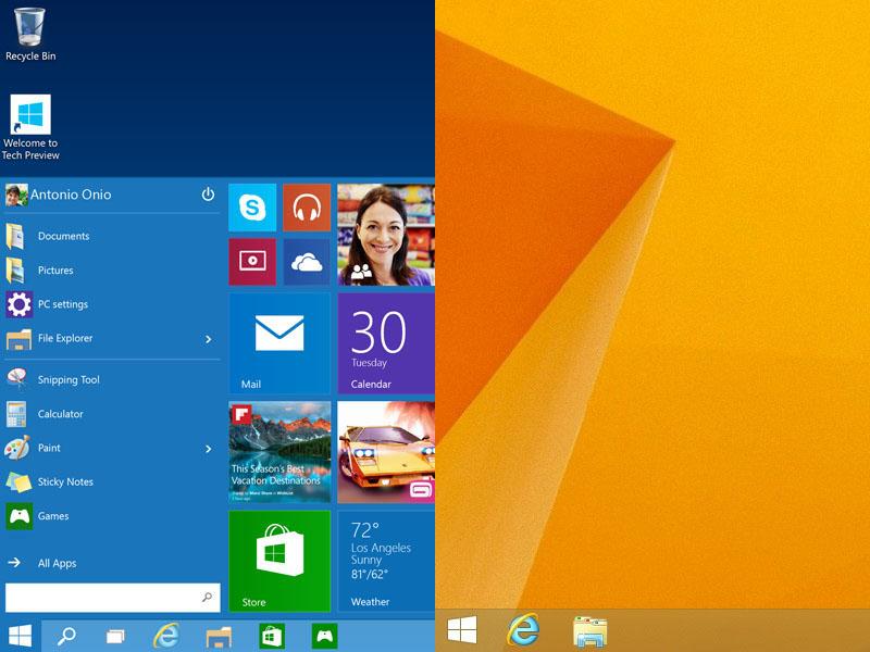 Windows 10 Windows 8.1