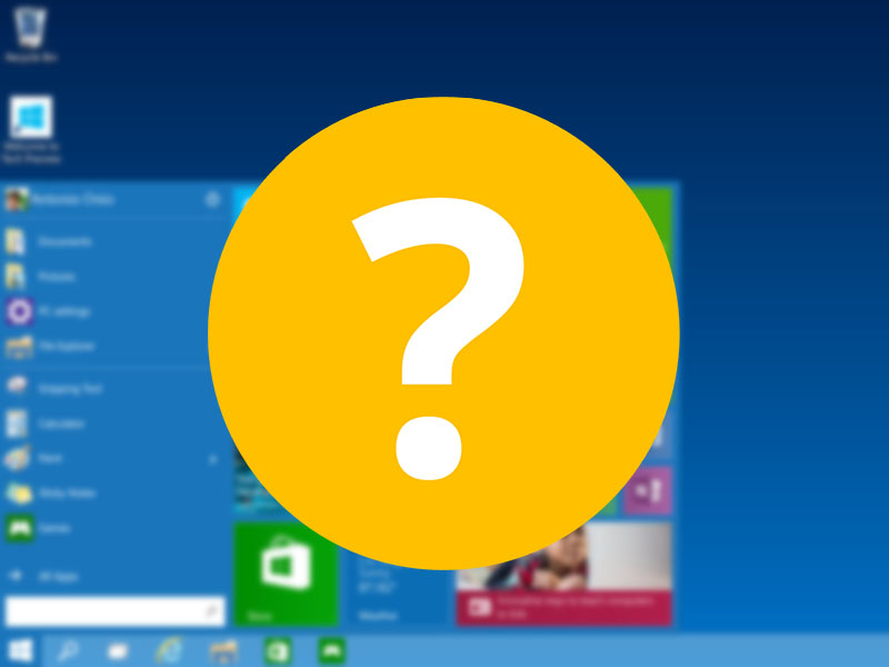 Windows 10 Preview What's New