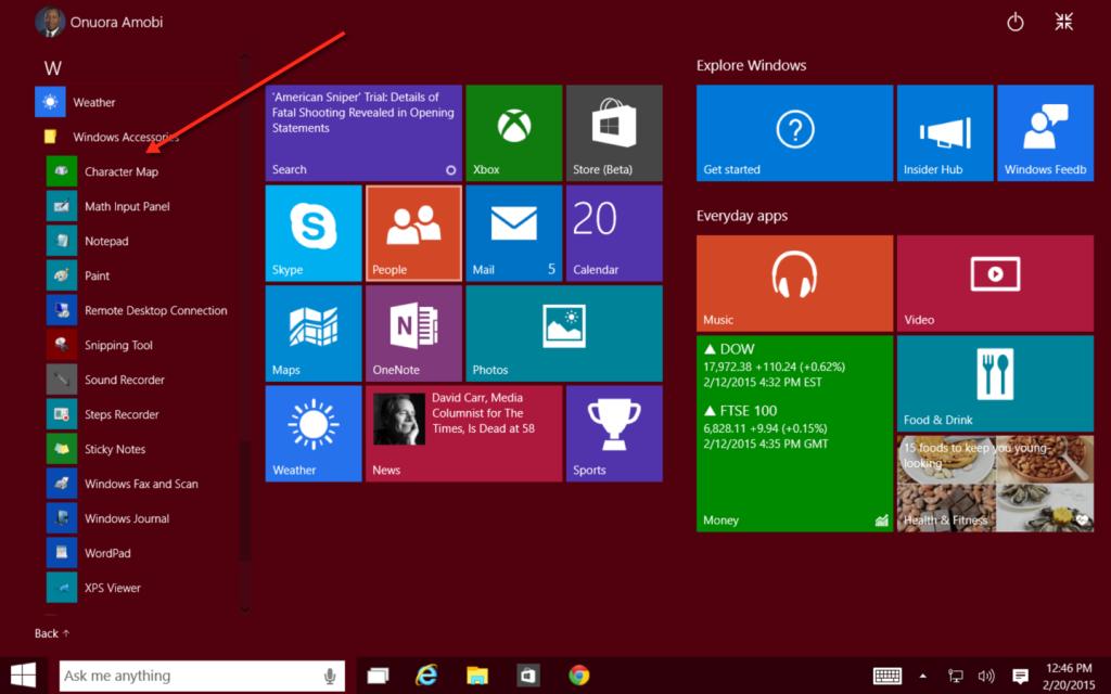 Tutorials Windows Accessories
