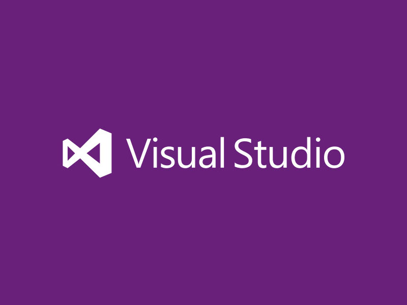 Visual Studio Logo Purple