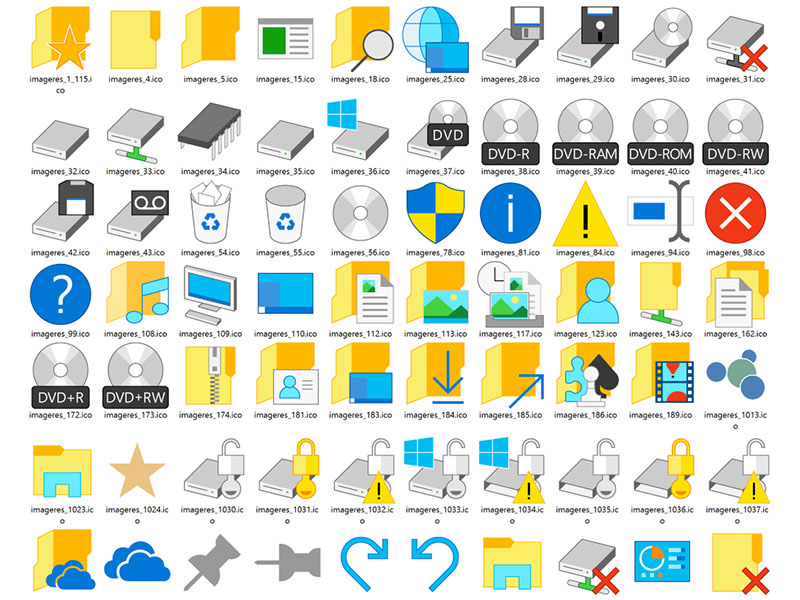 Windows 10 Icons Are Not Designed By IconFactory, No Sir