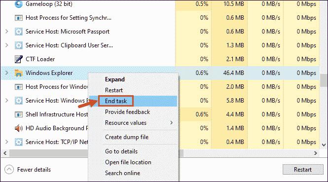End-Windows-Explorer