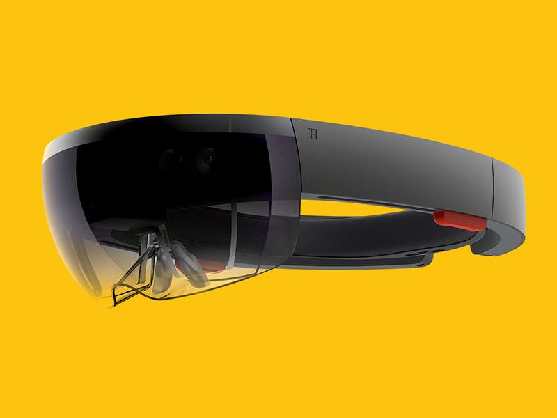 Microsoft HoloLens Yellow