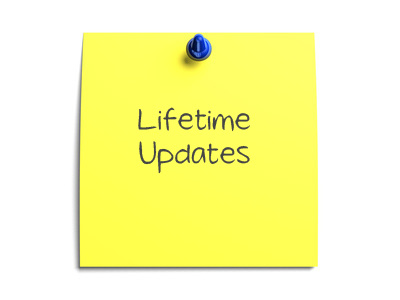 Free lifetime updates