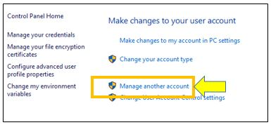How to Setup a New Local Account