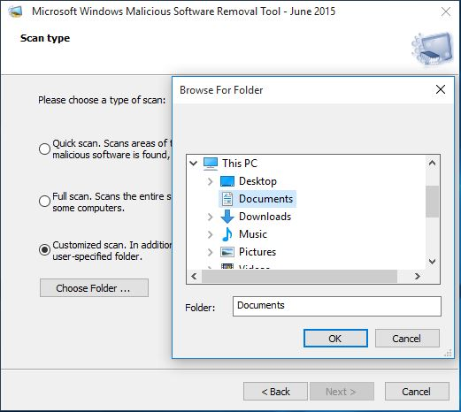 How to Use Malicious Software Removal Tool