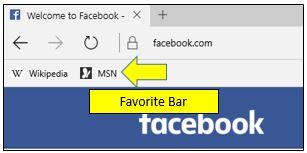 How to Turn On Favorites Bar in Microsoft Edge