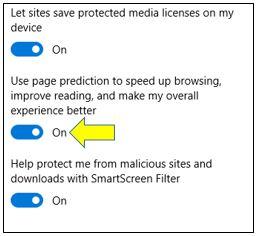 Page Prediction in Microsoft Edge
