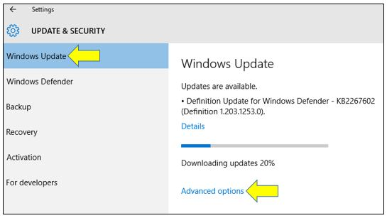 how to Uninstall a Windows Update