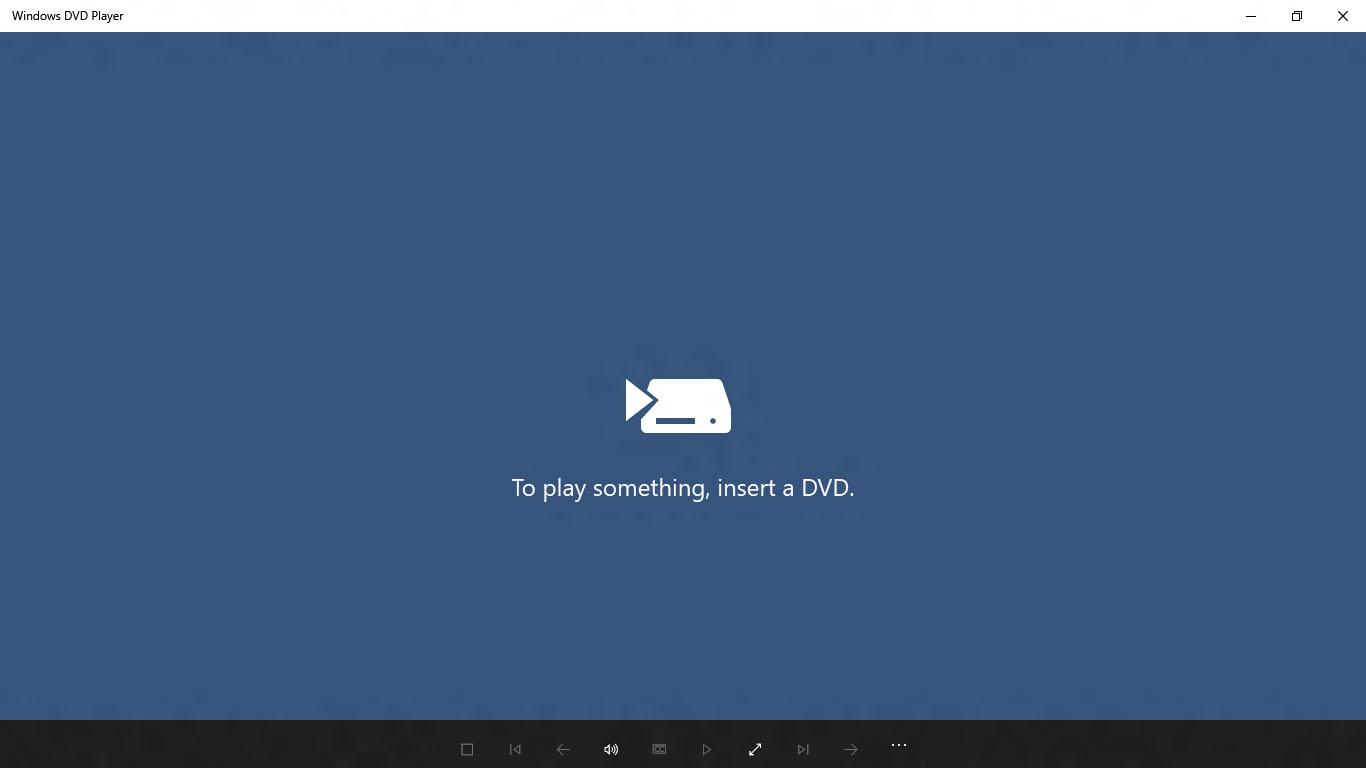 Windows DVD Player App