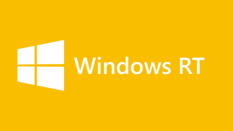 Windows RT Logo Yellow