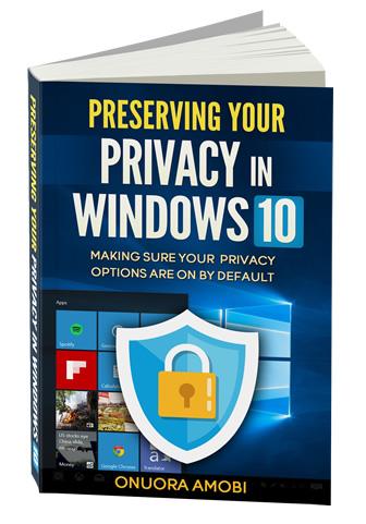 Windows 10 Privacy ebook