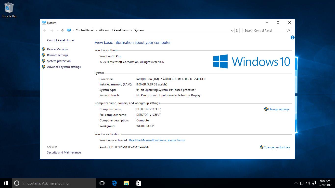 Operating Manually Windows 10 Update 1809 Errors