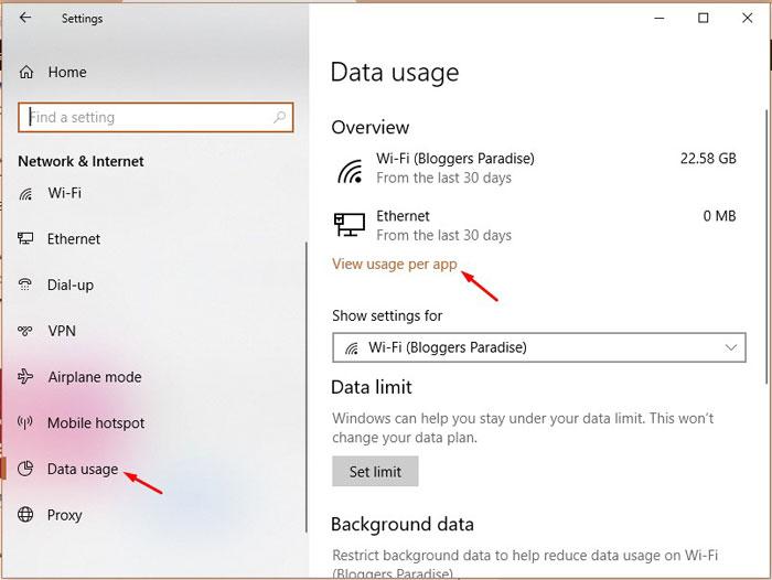 Check Data Usage Method-1-3