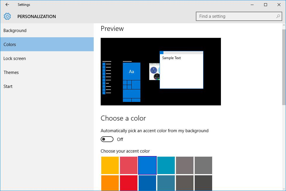 Turn off Dynamic Color Adaptation in Windows 10