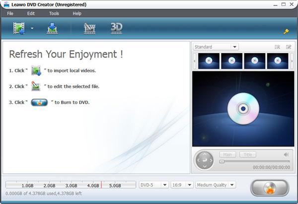 Leawo DVD Creator