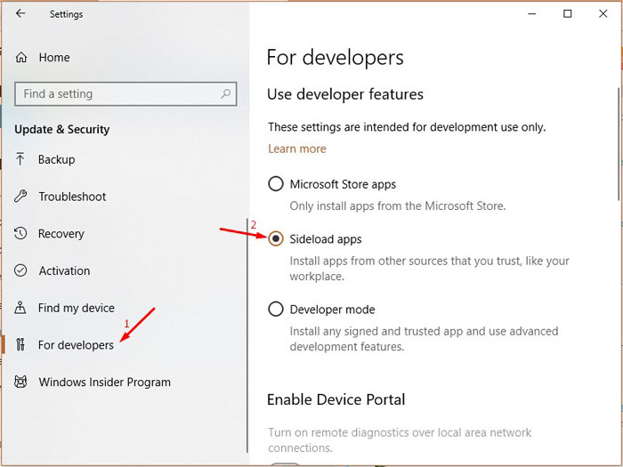 How to Sideload Windows 10 Apps (Install Unpublished Apps Easily)