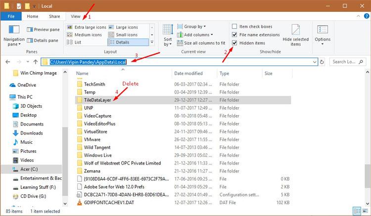 Fix Taskbar Not Working Method 3-3