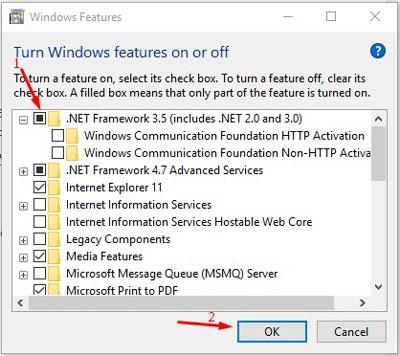 Install MS.Net Windows 5