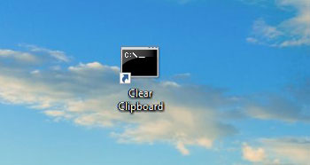 Clear Clipboard using Shortcut 4