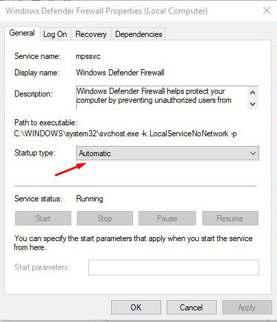 Fix Service Registration Missing Error 15