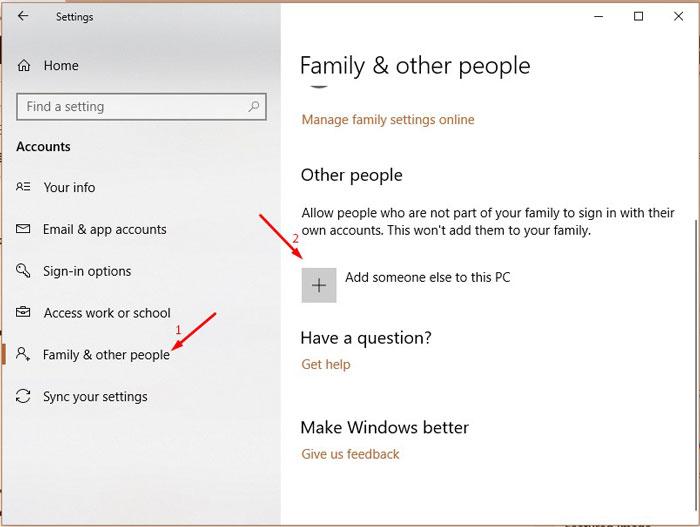 Create New User Account 2