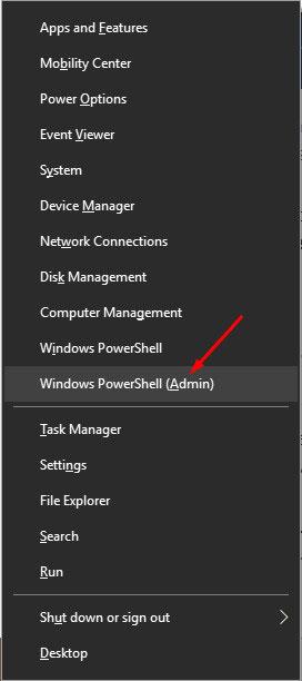 Launch PowerShell Admin