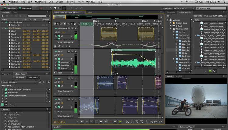 Adobe Audition - Best Alternatives of Logic Pro