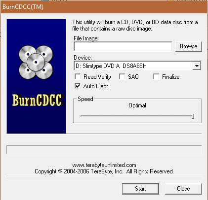 BurnCDCC - Best ISO Burners