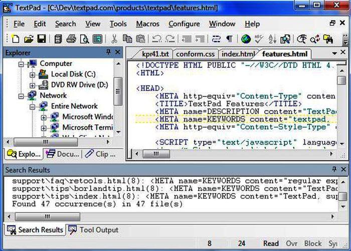 TextPad - Best Text Editors