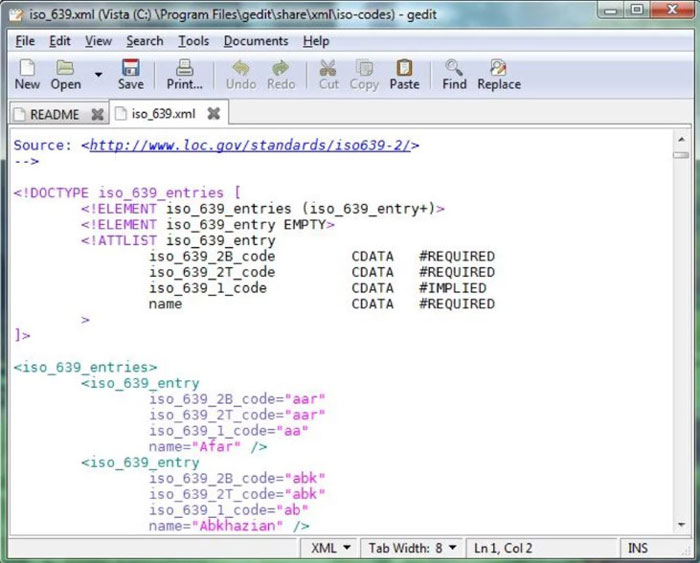 Gedit - 10 Best Text Editor for Programmers