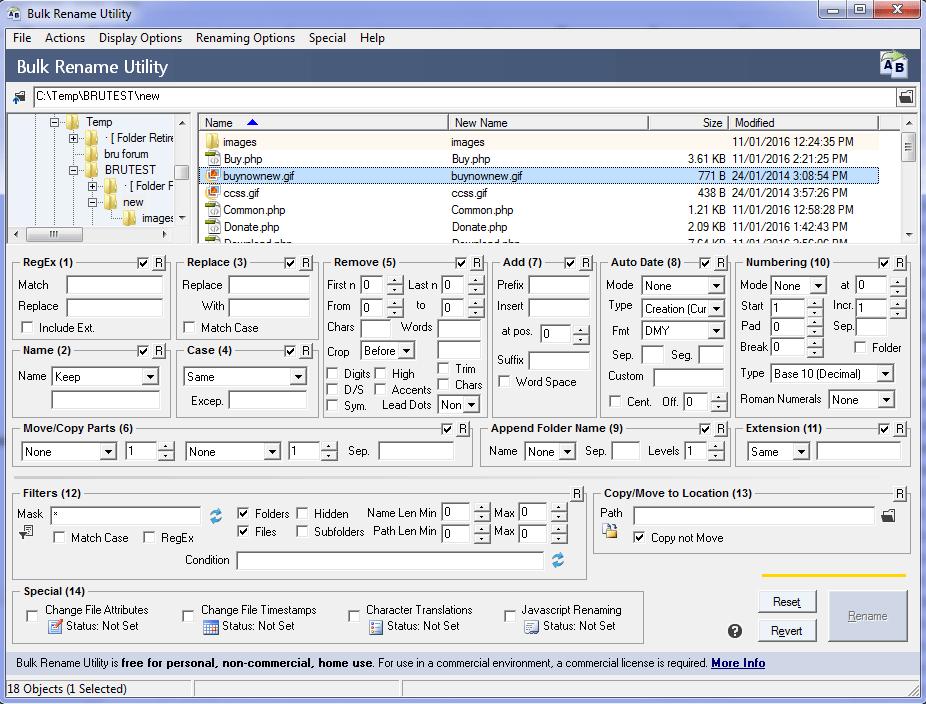 Bulk Rename Utility - Best File Renamers