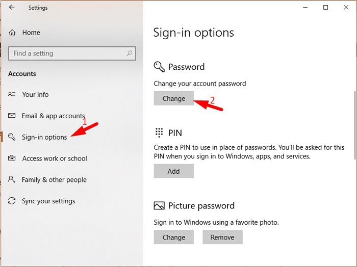 Bypass Windows 10 Password 2-2