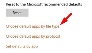 Change Default Apps by File Type 1
