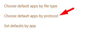 Change Default Apps by Protocol 1