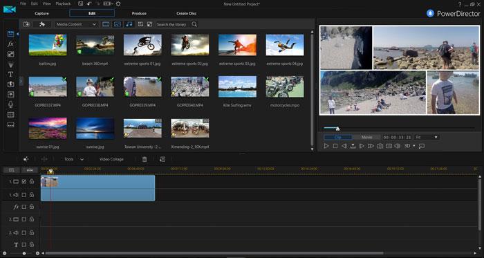 Cyberlink PowerDirector - 5 Best 360 Video Editor
