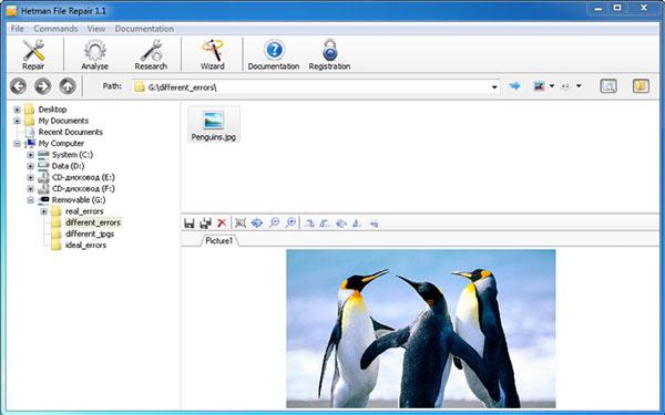 Hetman File Repair - Tools to Repair Corrupted Files