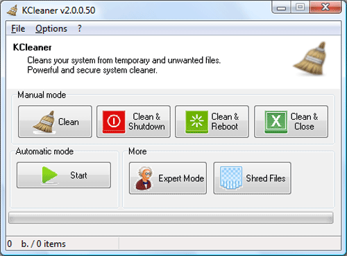 KCleaner - Top Alternatives for CCleaner